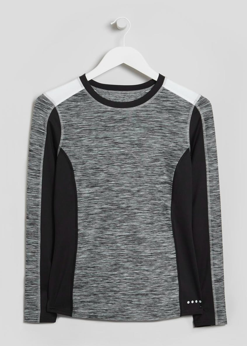 Souluxe Long Sleeve Panel Sports T-Shirt