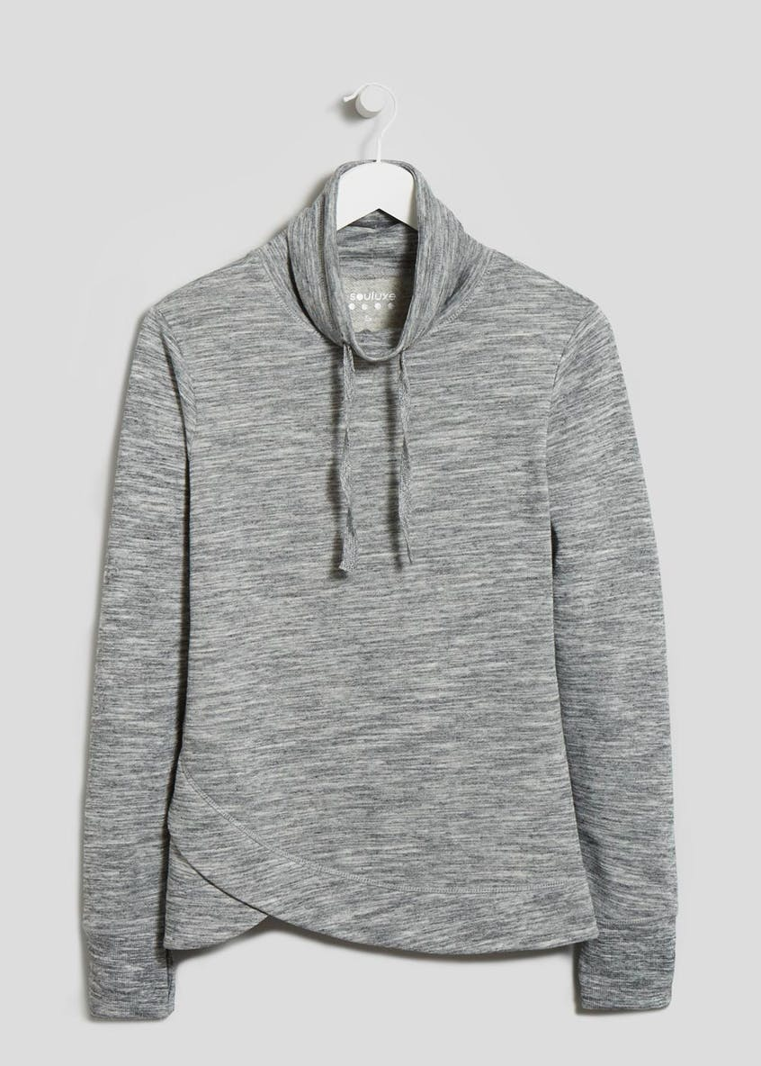 Souluxe Cross Front Sweatshirt
