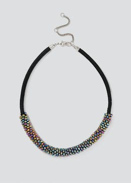 Sparkle Multi Bead Rope Necklace