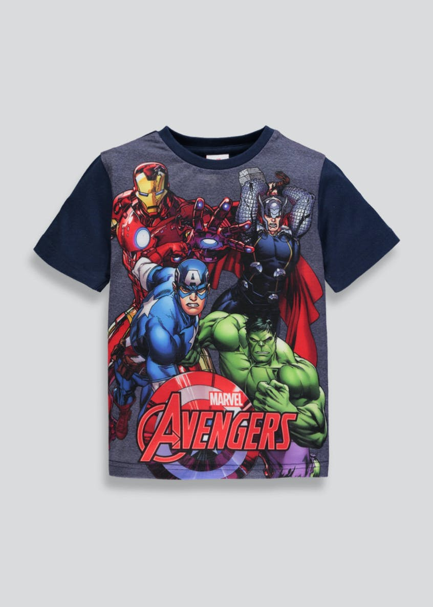 Kids Marvel Avengers T-Shirt (2-7yrs)