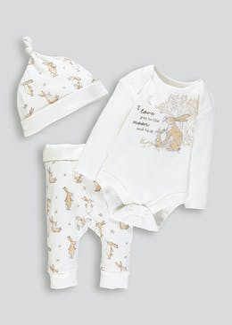 Unisex Guess How Much I Love You 3 Piece Set (Newborn-9mths)