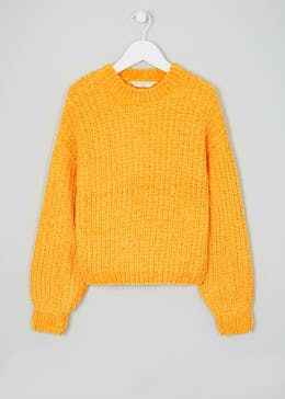 Girls Candy Couture Chenille Knit Jumper (9-16yrs)