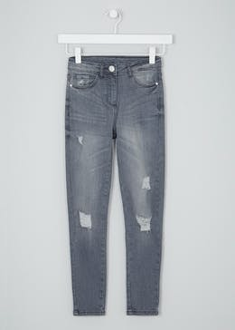 Girls Candy Couture Distressed Jeans (9-16yrs)
