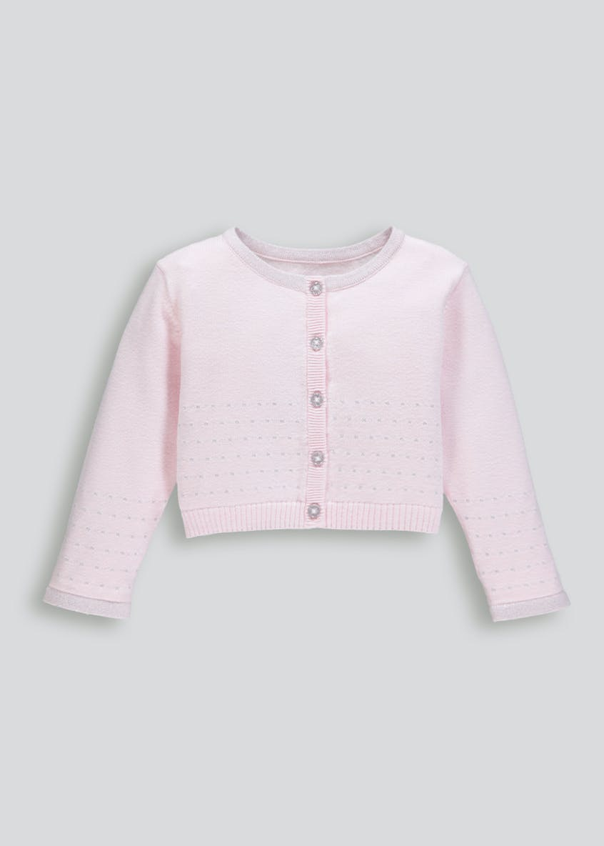 Girls Lurex Cardigan (9mths-6yrs)