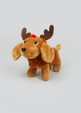 Elf Sausage Dog Soft Toy (26cm)