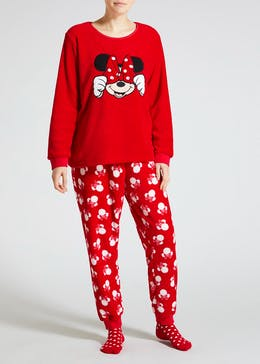 Disney Minnie Mouse Fleece Pyjama Gift Box
