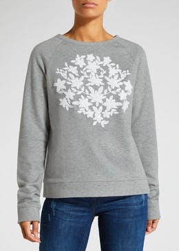 Falmer Floral Embroidered Sweatshirt