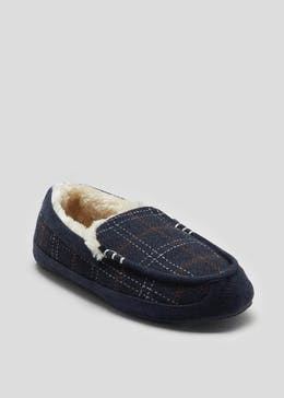 fe14750dddfe8d Mens Slippers - Moccasin & Mule Slippers from £6 – Matalan