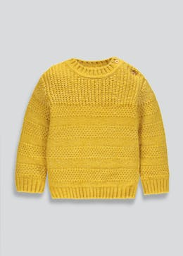Boys Twisted Knit Jumper (9mths-6yrs)