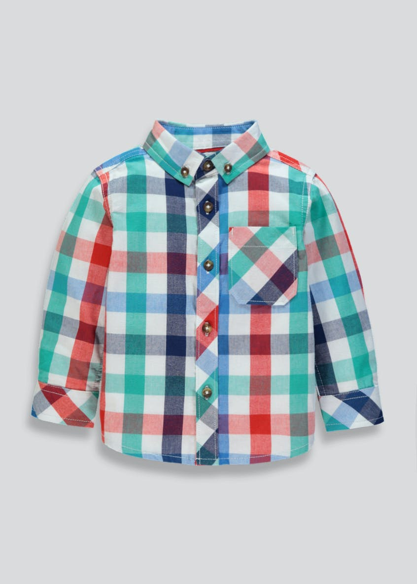 Boys Check Shirt (9mths-6yrs)
