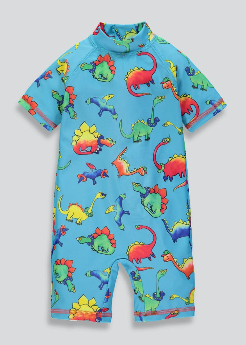 Kids Dinosaur Surf Suit (3mths-5yrs)