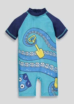 Kids Octopus Surf Suit (3mths-5yrs)