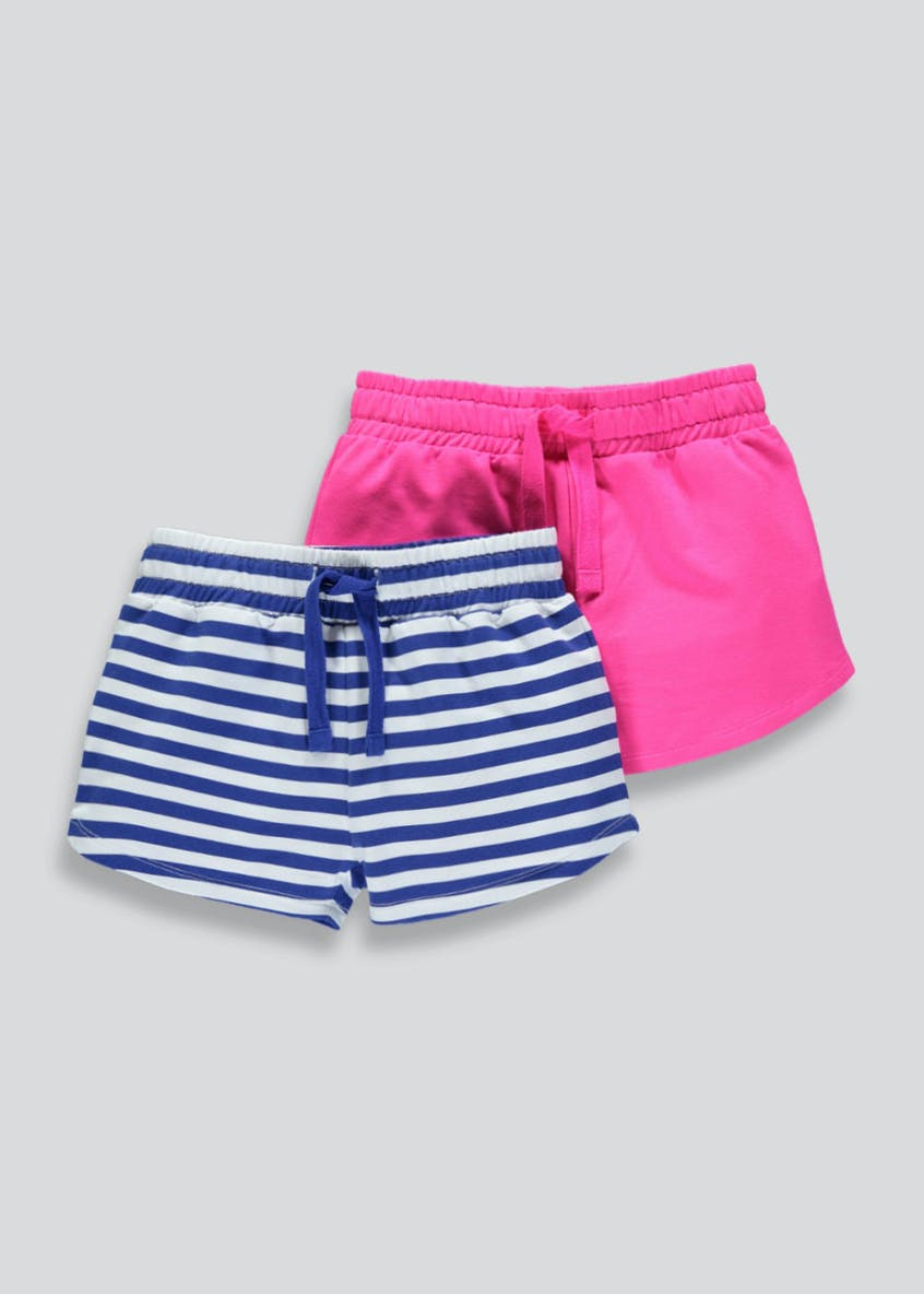 Girls 2 Pack Shorts (4-13yrs)