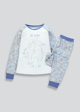 Girls Bunny Pyjama Set (4-13yrs)