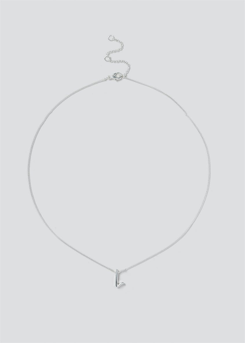 Giftable L Initial Necklace