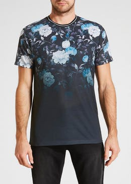 Floral Faded Print T-Shirt