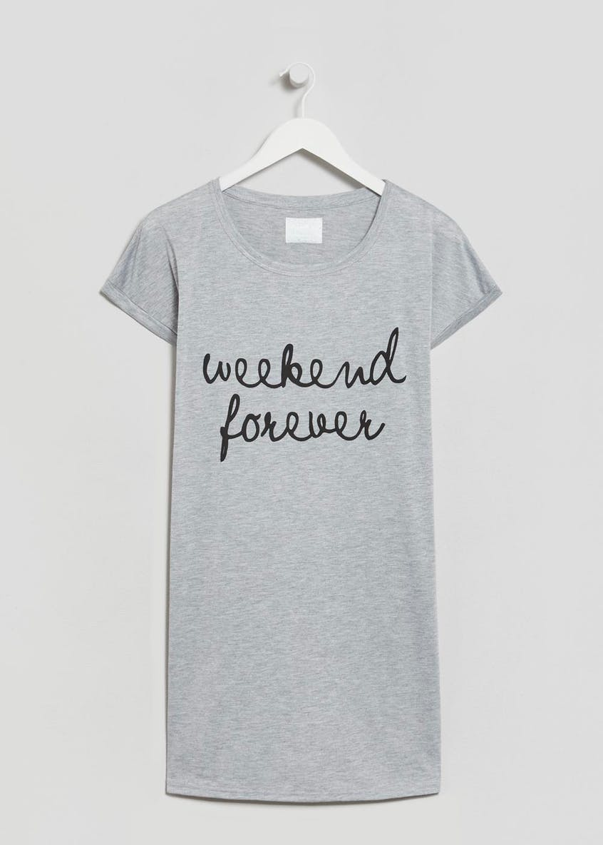 Weekend Slogan Nightie