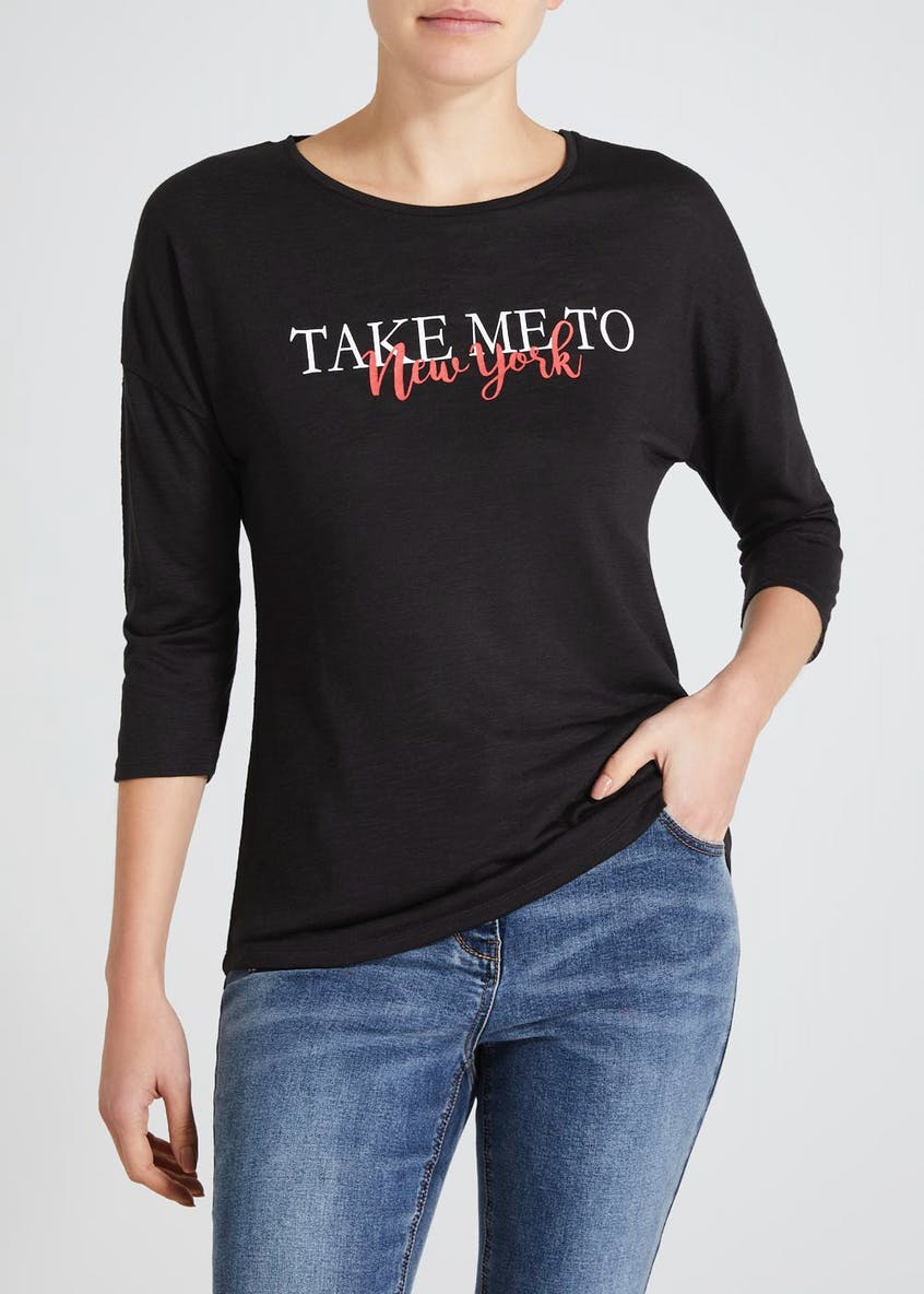 New York Slogan T-Shirt