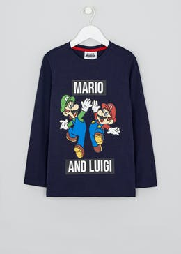 Kids Mario & Luigi T-Shirt (4-9yrs)