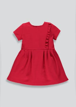 Girls Ruffle Jersey Dress (9mths-6yrs)