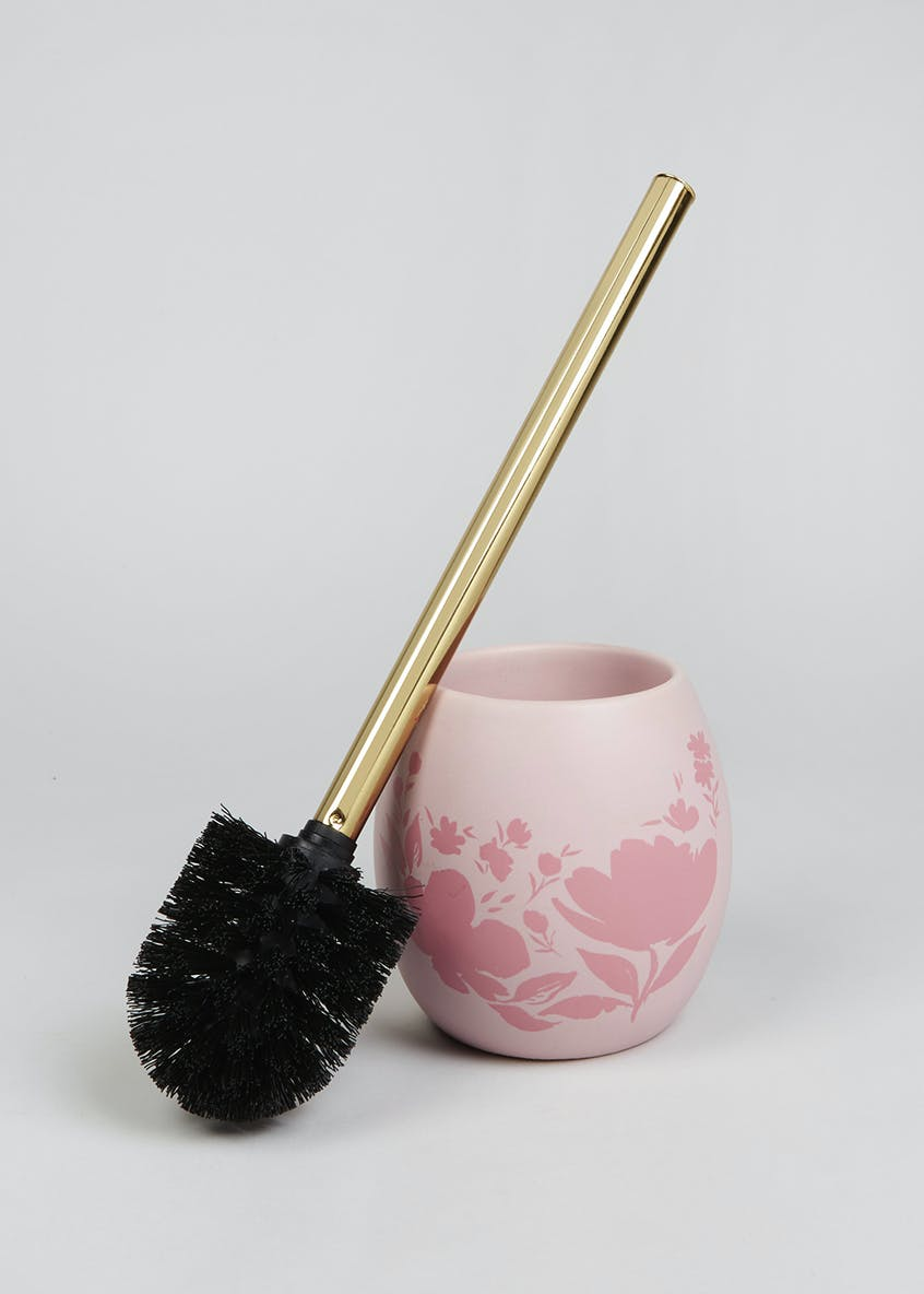 Floral Bathroom Toilet Brush (40cm x 10cm)