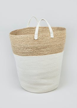 Rope Laundry Basket (50cm x 30cm)