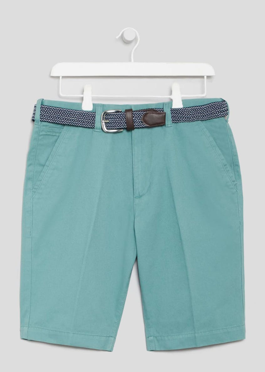 Lincoln Belted Chino Shorts
