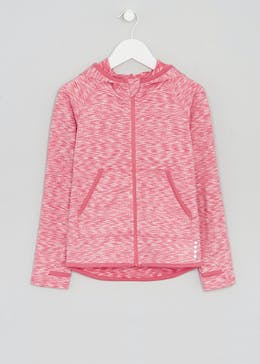 Girls Souluxe Space Dye Sports Hoodie (4-13yrs)