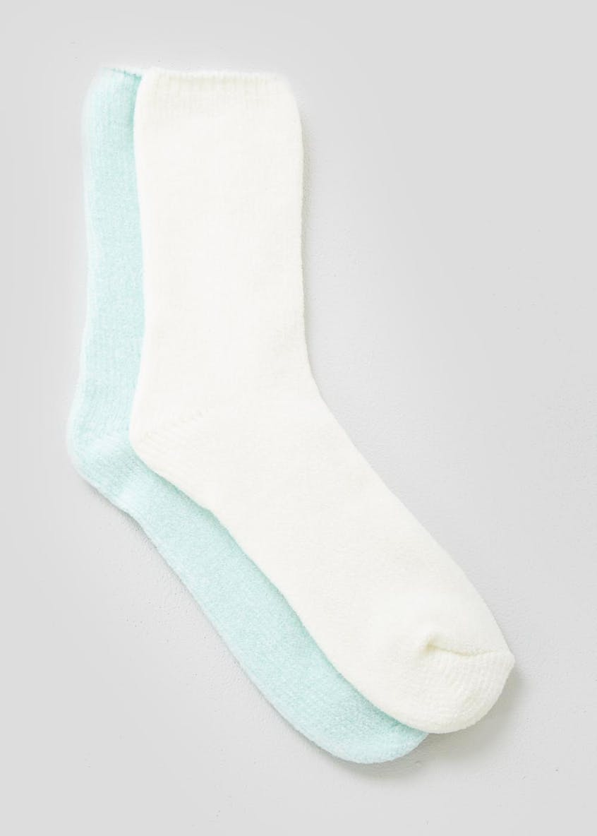 2 Pack Super Soft Fluffy Socks
