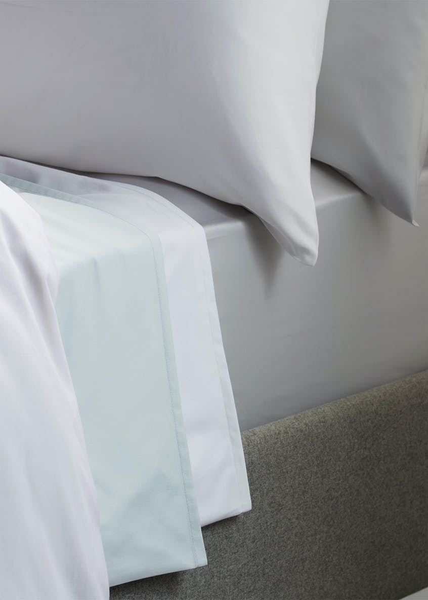 100% Cotton Sateen Housewife Pillowcases (400 Thread Count)