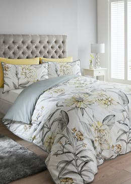 100% Cotton Floral Duvet Cover