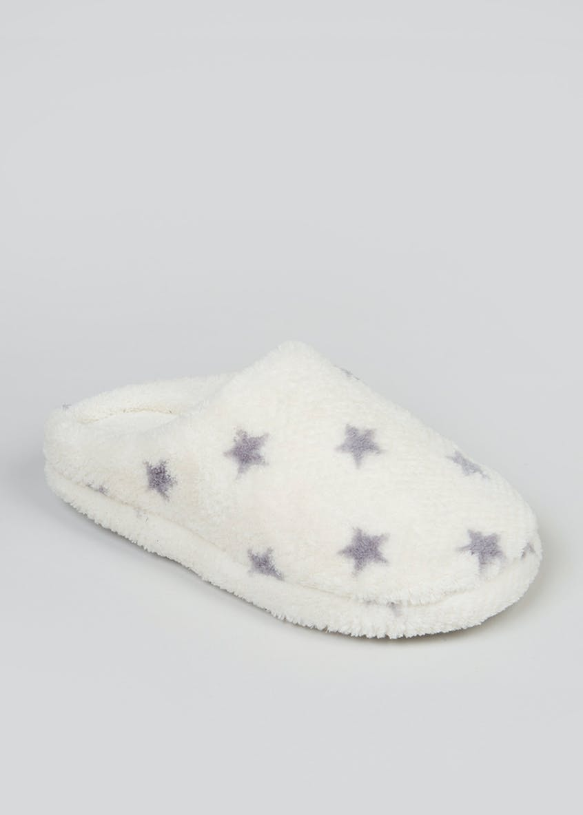 Star Honeycomb Mule Slippers