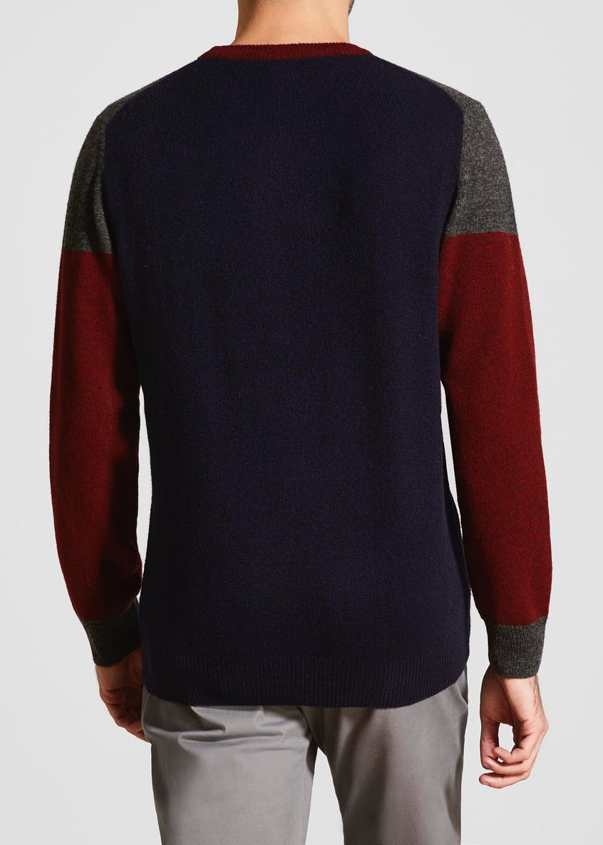 Lambswool Colourblock Jumper