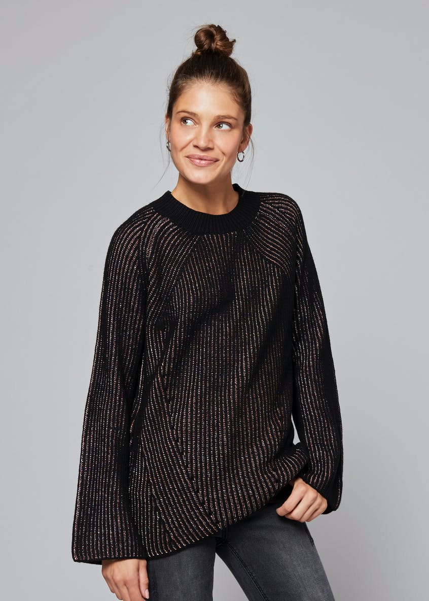 Lurex Stripe Jumper