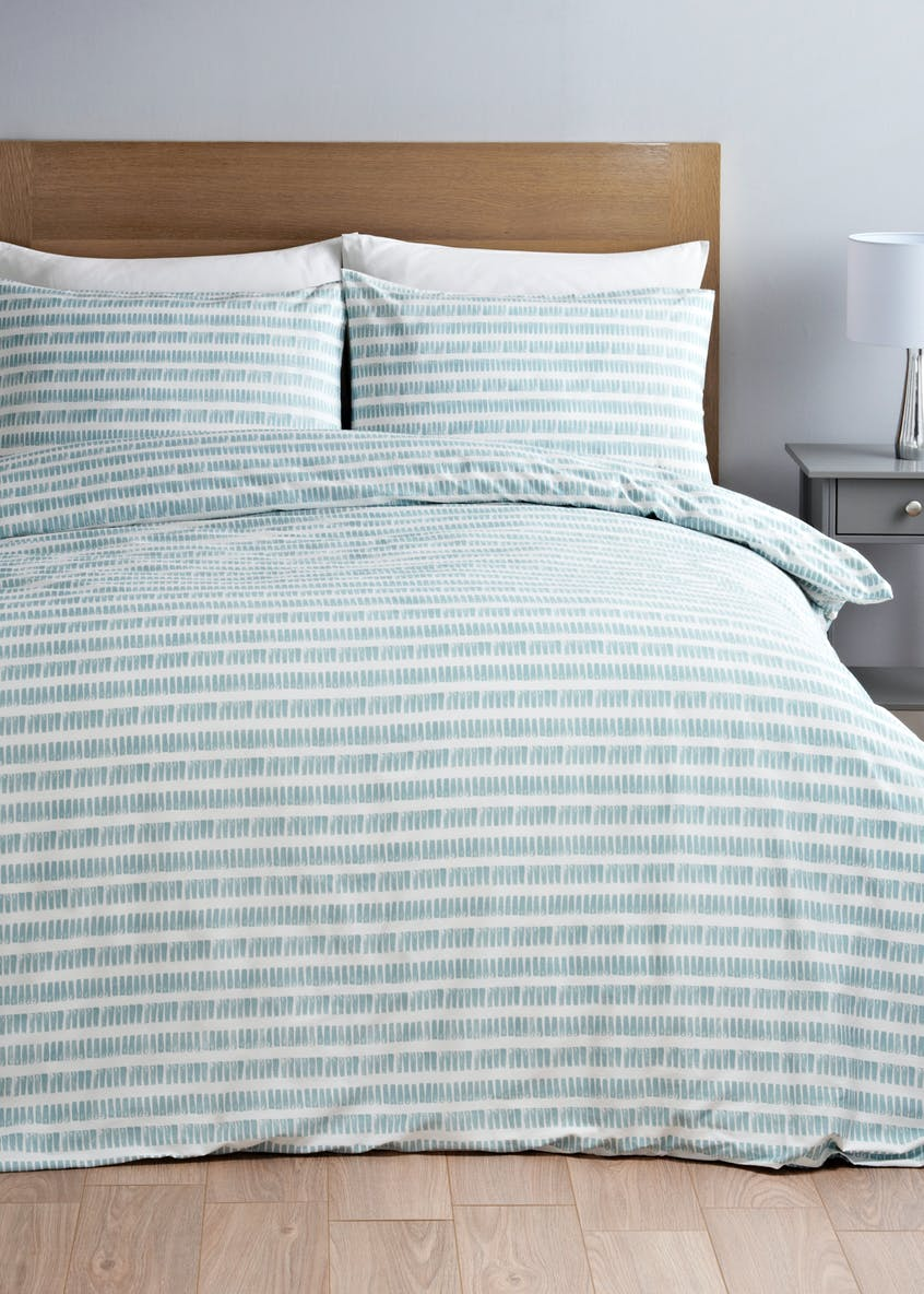 Reversible Stripe Duvet Cover