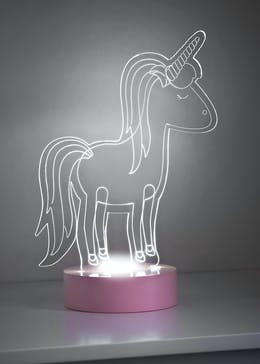 LED Unicorn Light (25cm x 16cm)