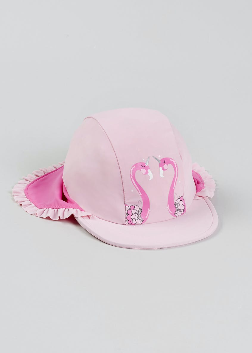 Kids Flamingo Surf Hat (6mths-4yrs)
