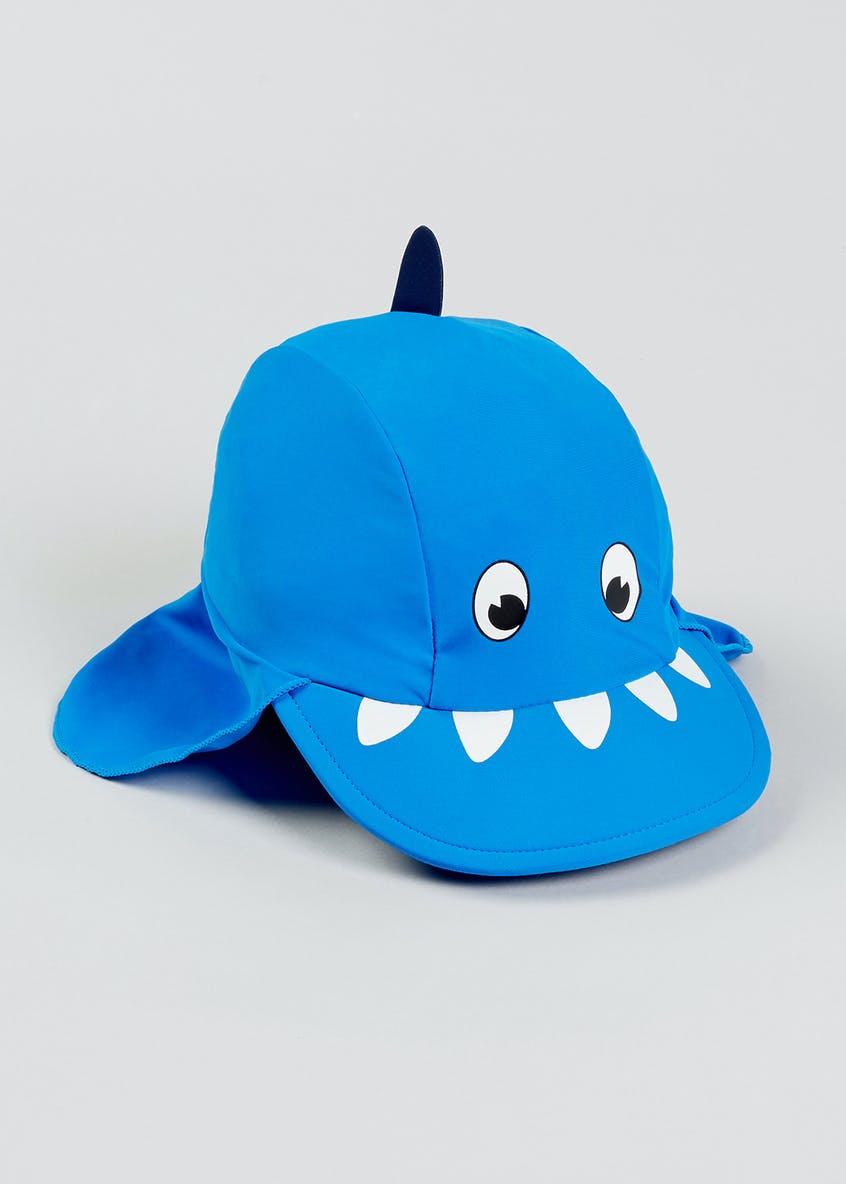 Kids 3D Shark Keppi Sun Hat (6mths-4yrs)