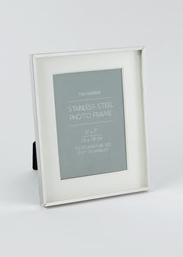 Stainless Steel Photo Frame (24cm x 19cm x 2cm)