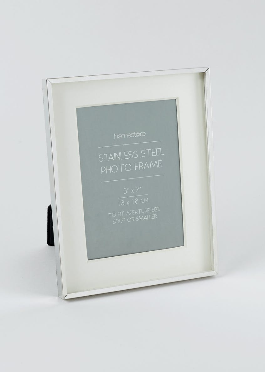 Stainless Steel Photo Frame (13cm x 18cm)