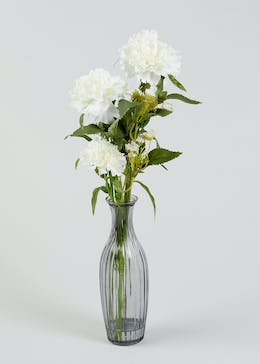 Carnations in Vase (46cm x 15cm x 15cm)
