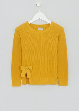 Girls Bow Jumper (4-13yrs)