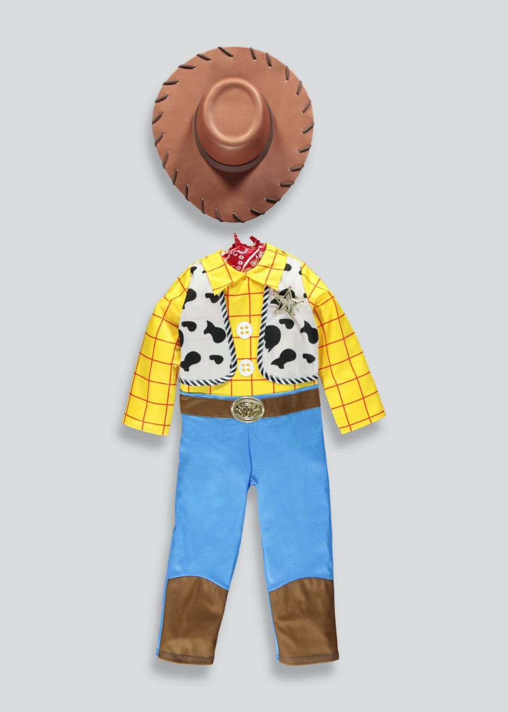 04bc3bfd31f Kids Disney Toy Story Woody Fancy Dress Costume (3-9yrs)