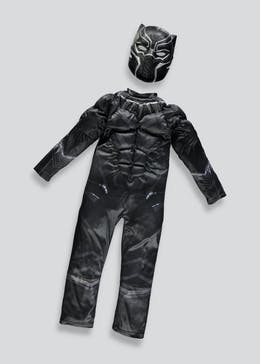 Kids Avengers Black Panther Fancy Dress Costume (3-9yrs)