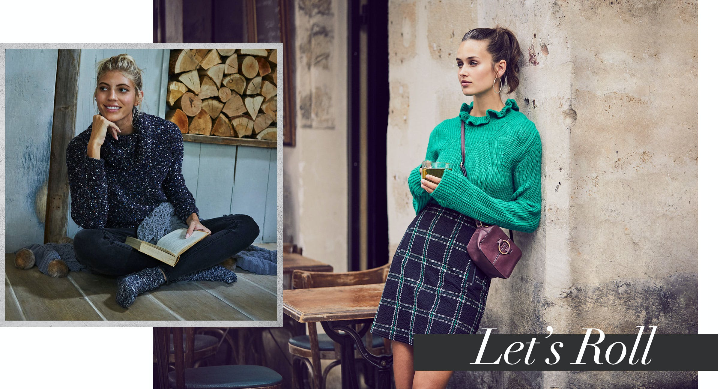 Dresses from knitwear - style and comfort