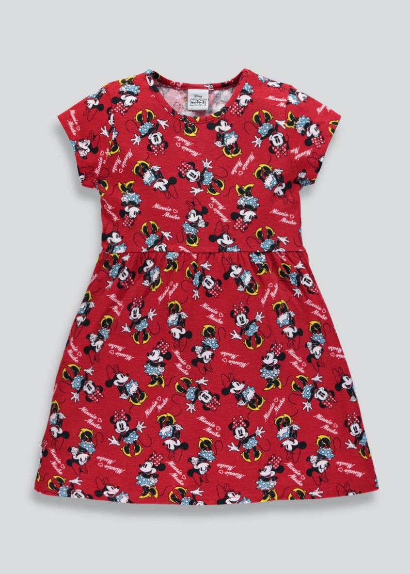 Kids Minnie Mouse Skater Dress (9mths-7yrs)