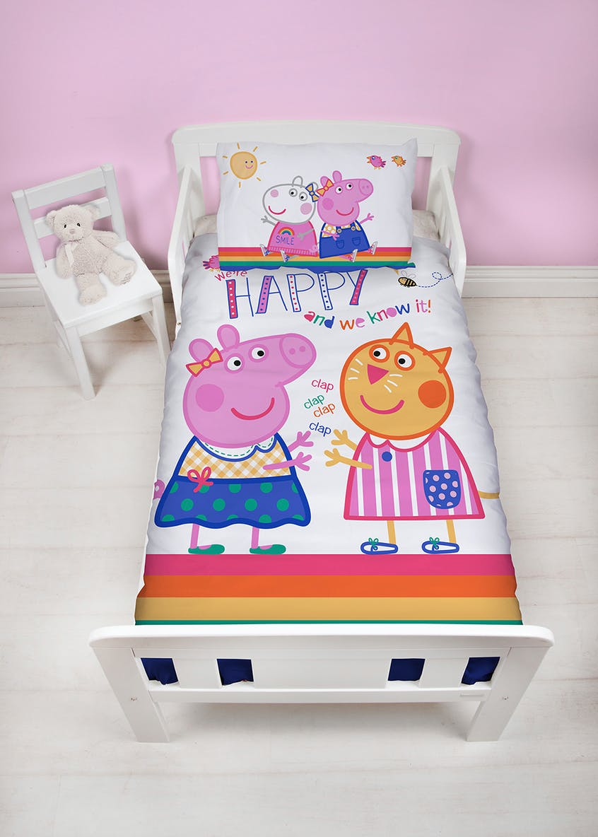 Toddler Peppa Pig Duvet Cover (Small Bed)