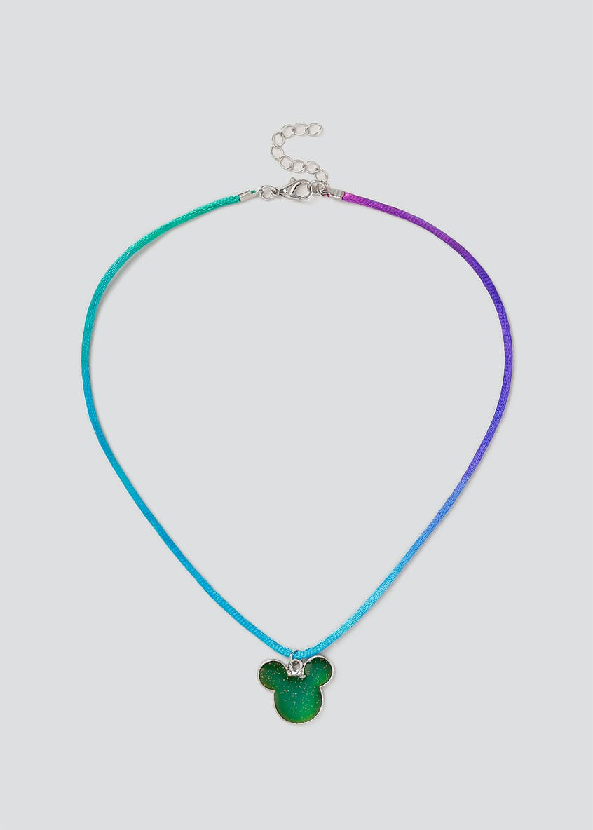 Disney Mickey Mood Changing Necklace
