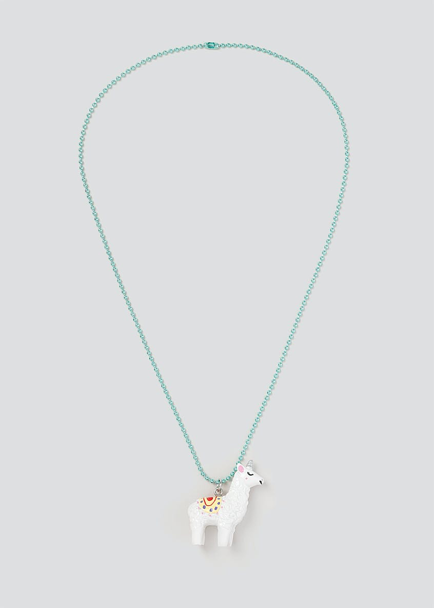 Fun Giftable Llamacorn Necklace