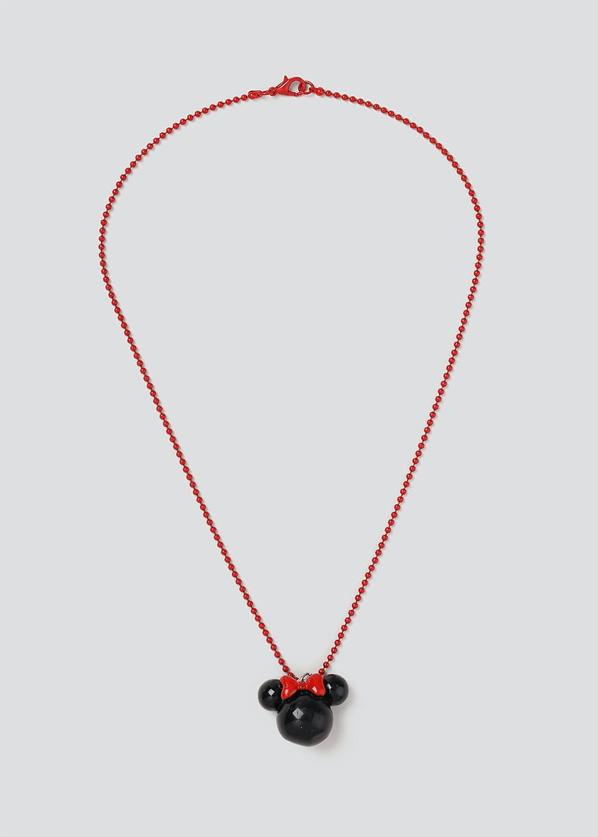 Disney Minnie 3D Pendant Necklace